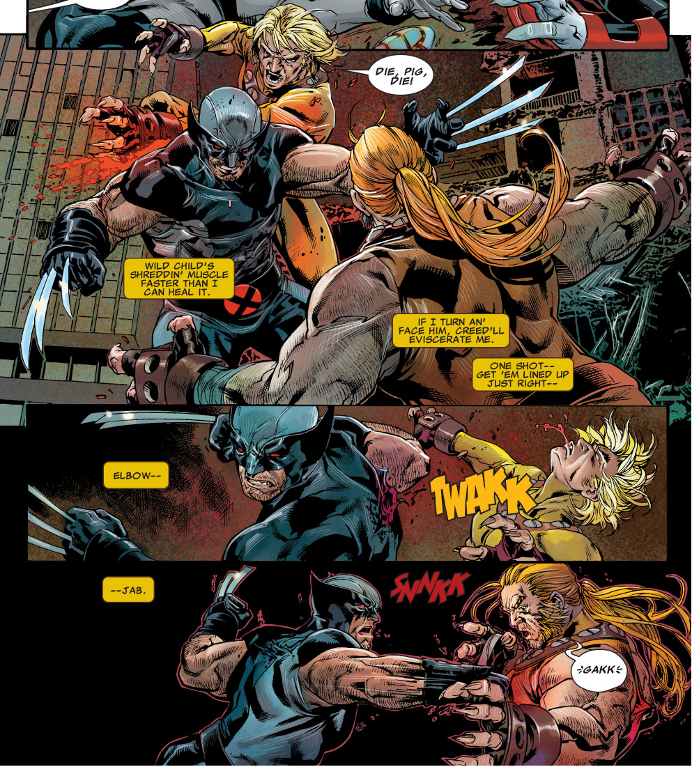 33138eb0c79 Wolverine VS Age Of Apocalypse Sabretooth And Wild Child | Comicnewbies