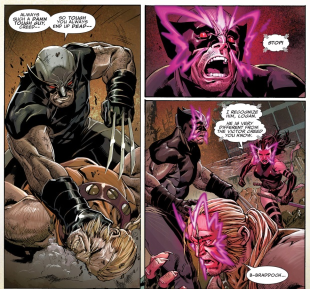 wolverine vs age of apocalypse sabretooth and wild child