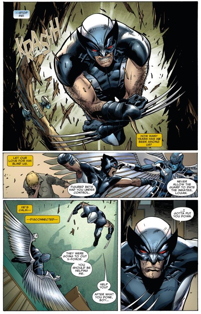 wolverine vs archangel