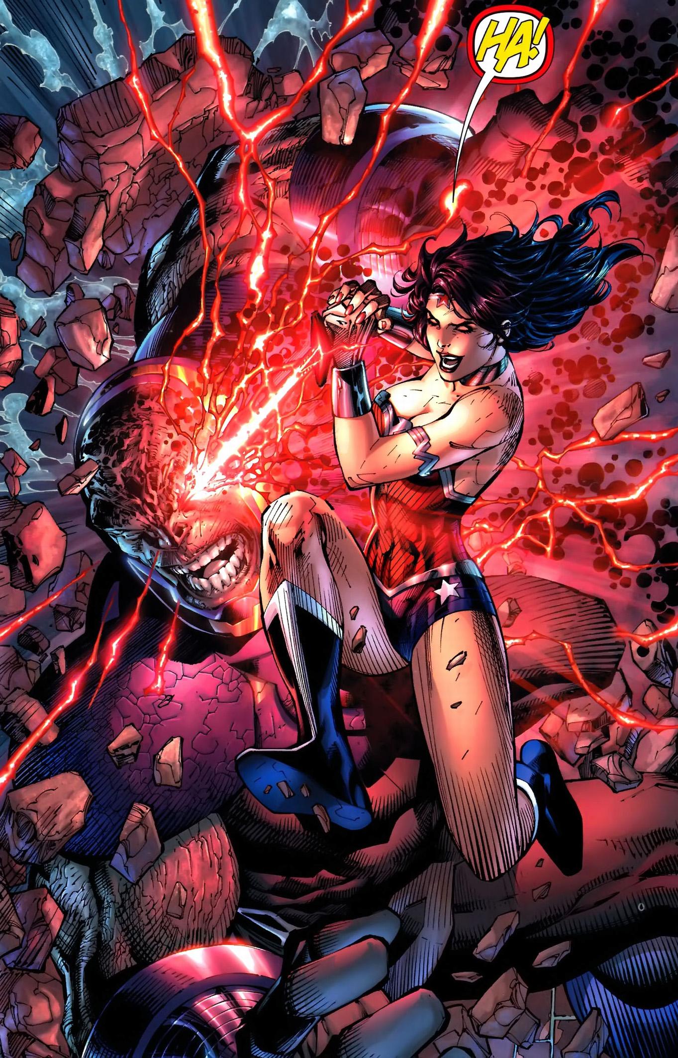 Wonder Woman And Aquaman Stabs Darkseids Eyes  Comicnewbies-9763