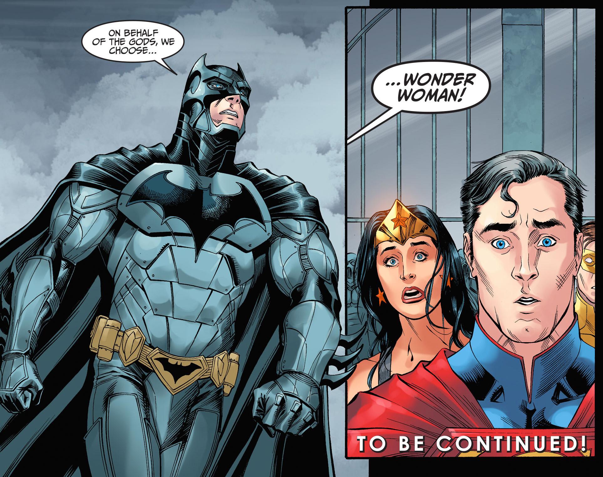 Wonder Woman Chooses Judgement By Combat