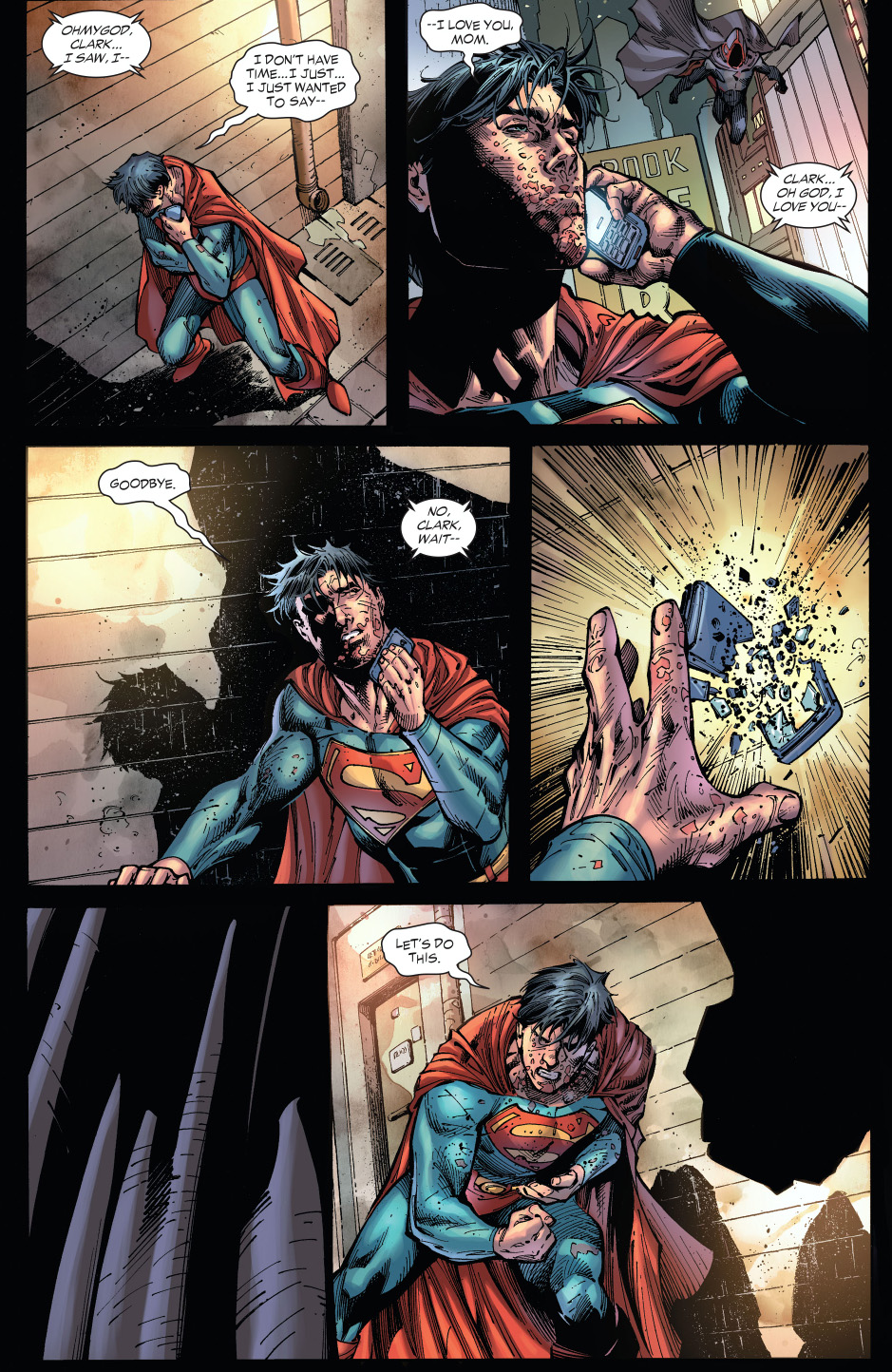 zod tortures superman earth 1 comicnewbies