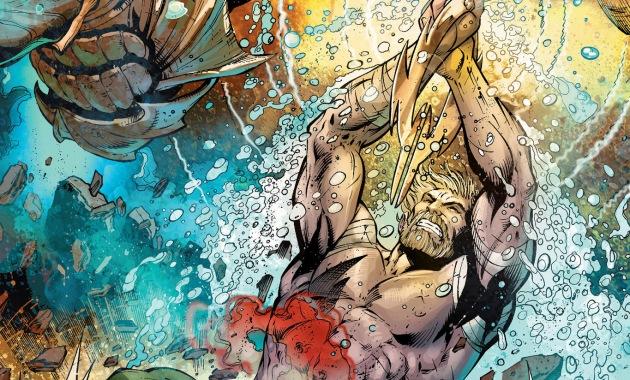 aquaman vs the dead king