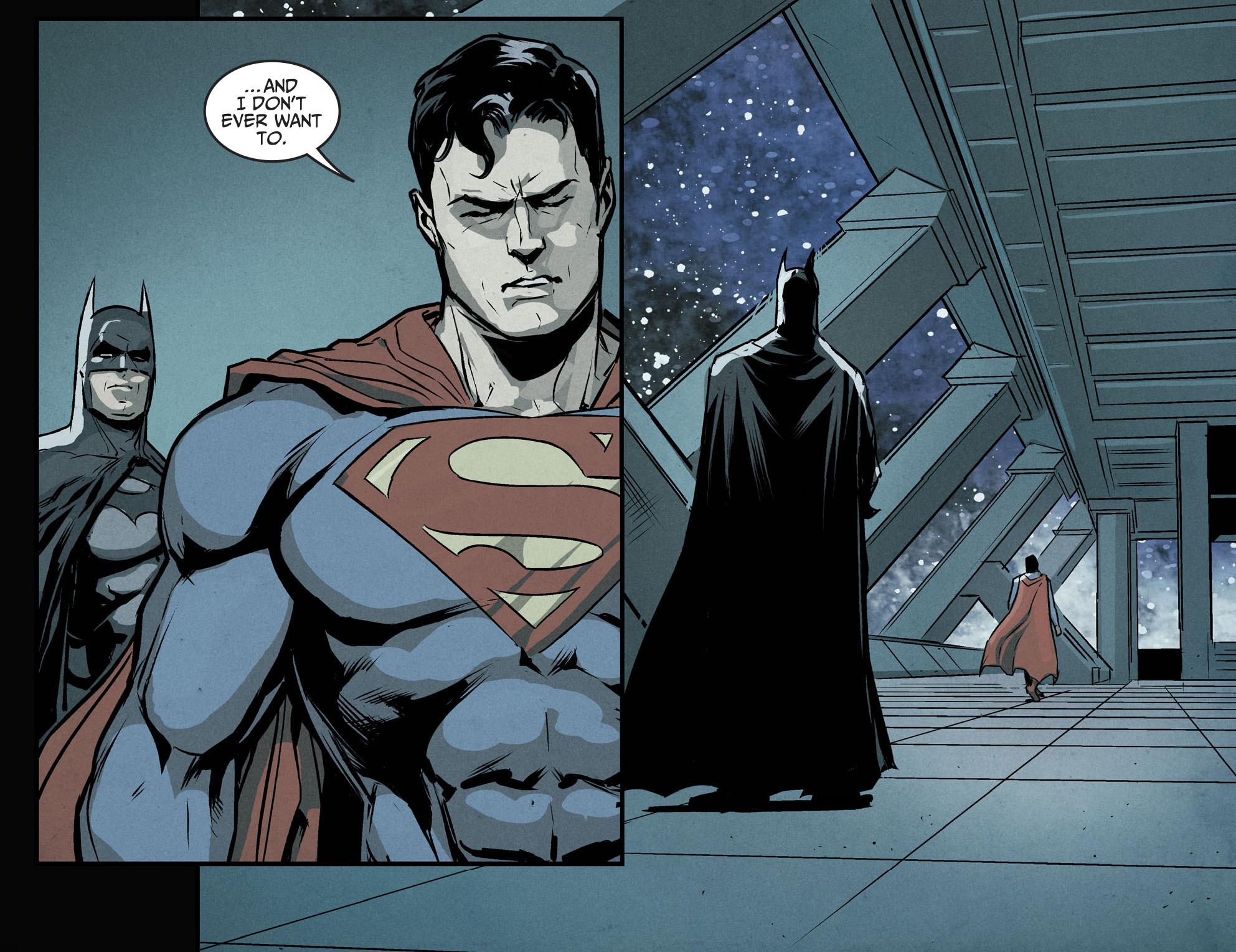 Batman Explains Why Wonder Woman Can Beat Superman ...