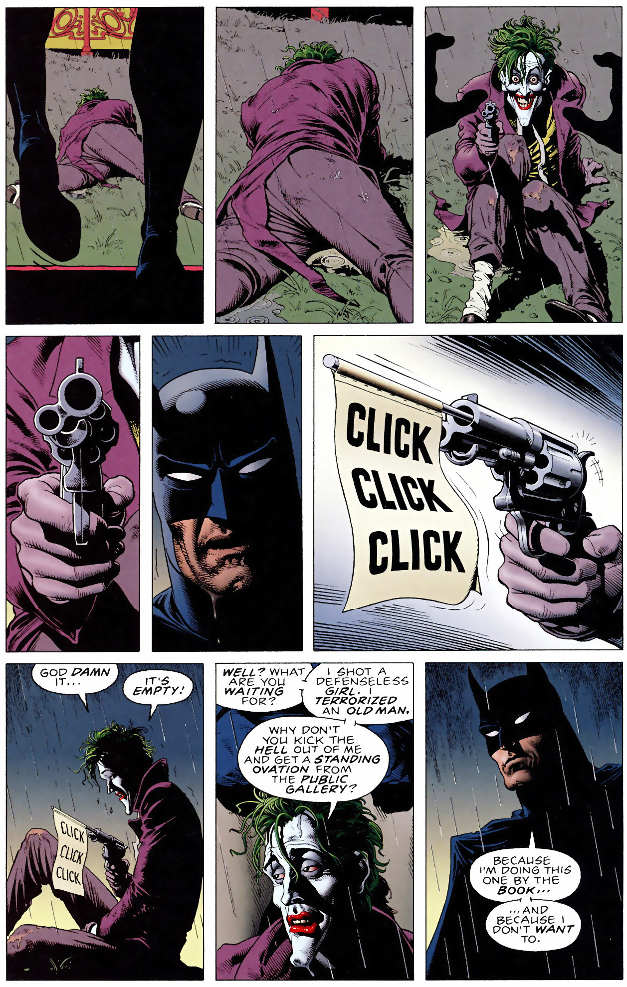 batman the killing joke Get this from a library batman : the killing joke [alan moore brian bolland  richard starkings tim sale] -- one bad day according to the grinning engine of .