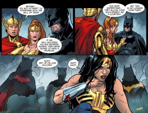 batwoman attacks wonder woman
