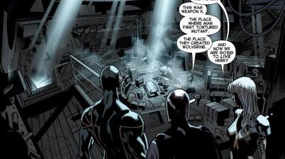 cyclops's new xavier school