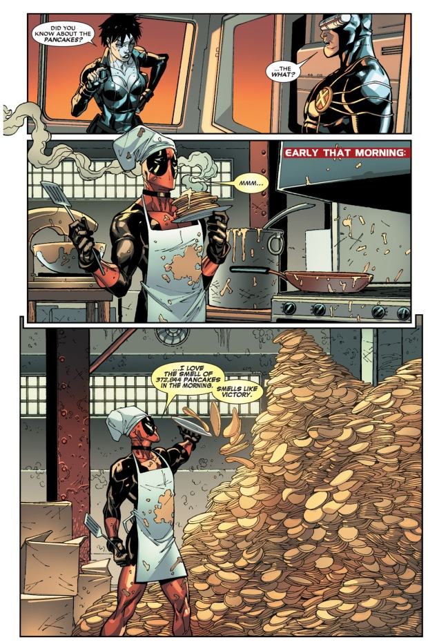 deadpool and pancakes
