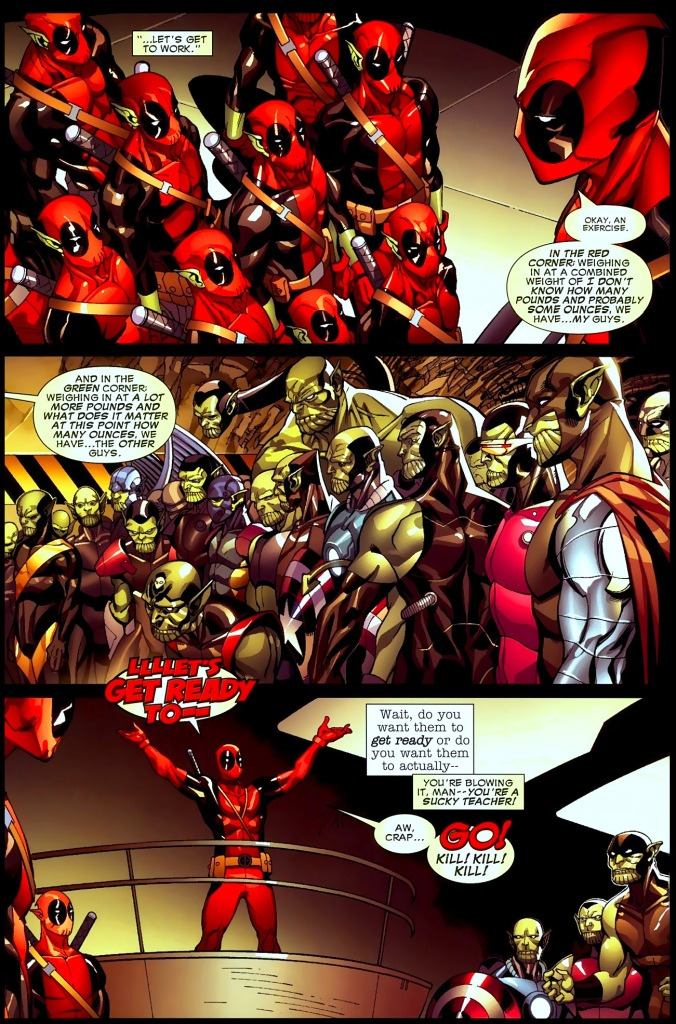 deadpool-type super-skrulls vs super-skrulls
