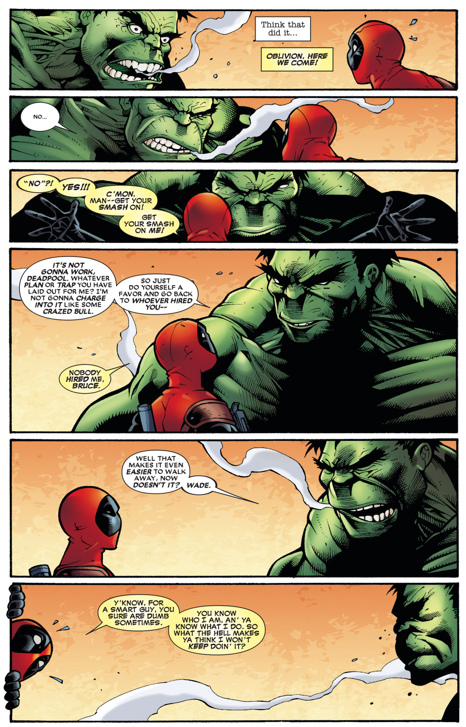 Deadpool VS The Hulk | Comicnewbies