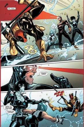 deadpool vs the x-men