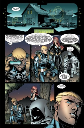 deadpool's first mission with captain america