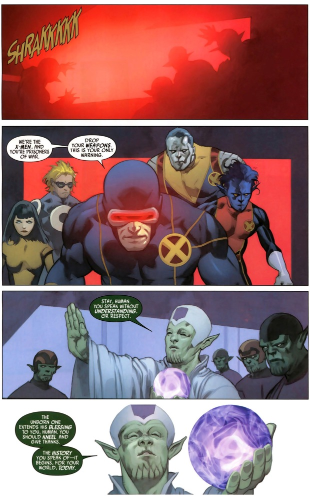 how cyclops dealt with a skrull soul shepherd