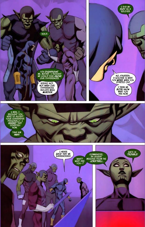 how cyclops took down the skrulls
