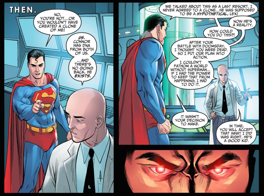 lex luthor clones superman