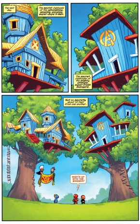 little avx treehouse war