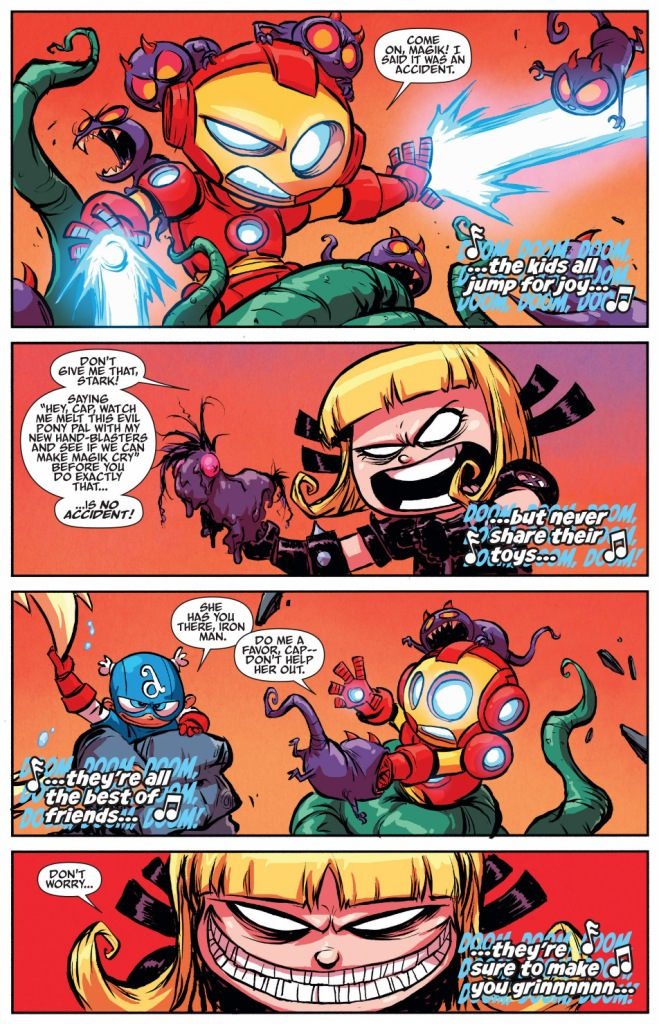 little magik avenges her doll