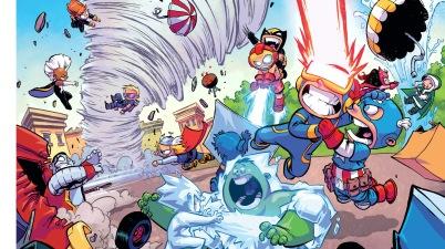 little x-men vs little avengers