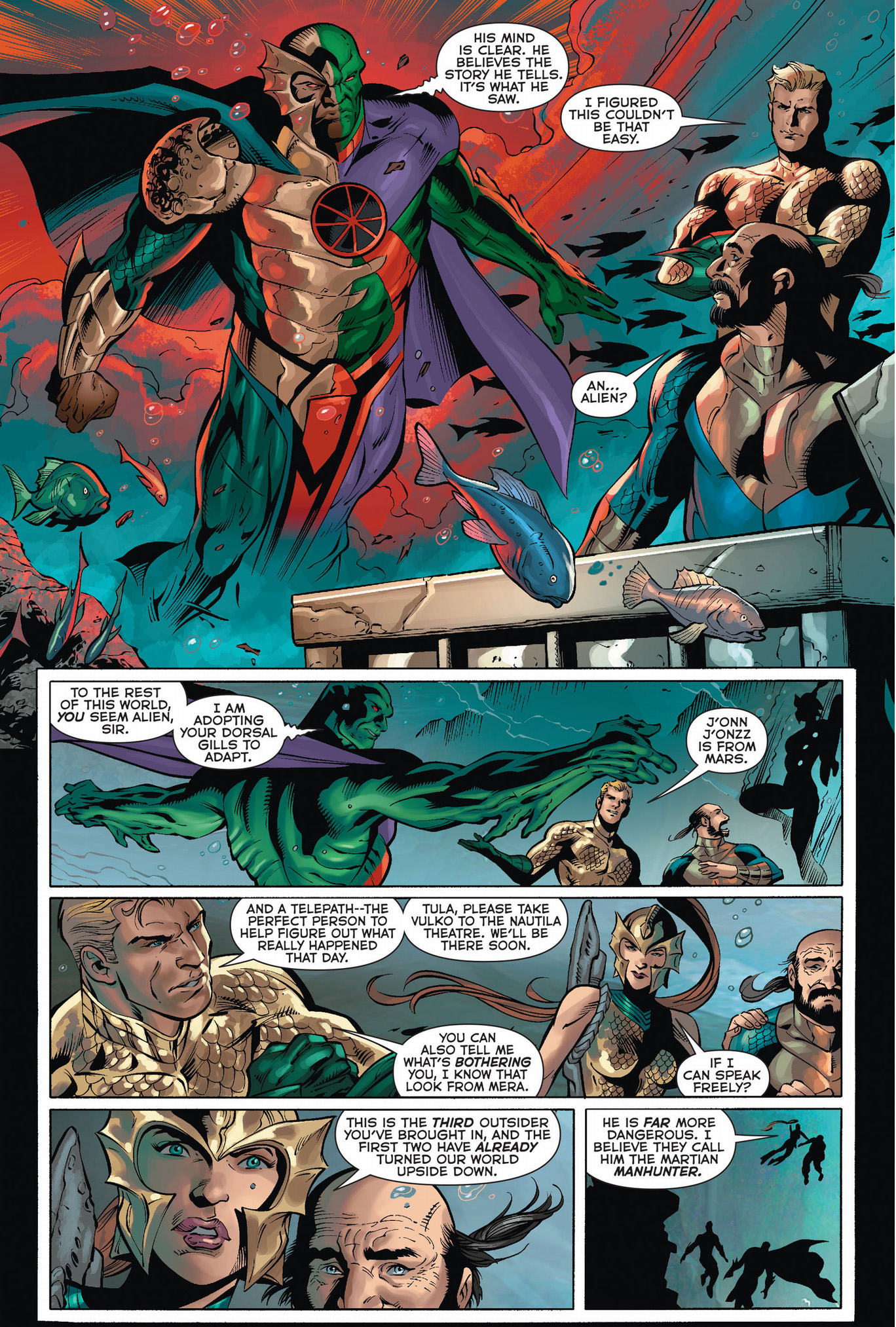 7 Muses Comics martian manhunter muses about being an atlantean – comicnewbies