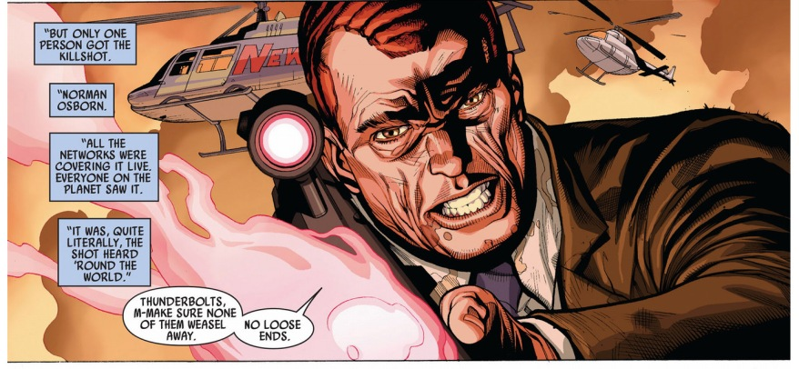 norman osborn kills queen veranke