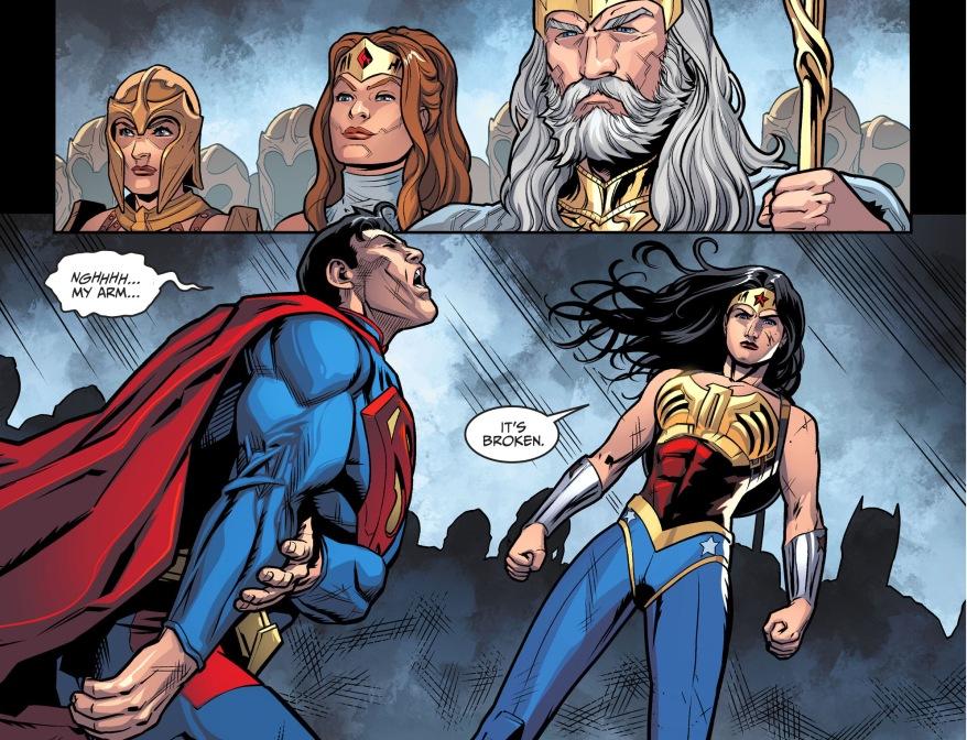 reactions to superman vs wonder woman