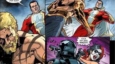 shazam vs hercules (injustice gods among us)