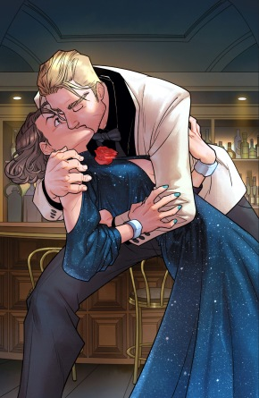 star-lord kisses kitty pryde (battleworld)