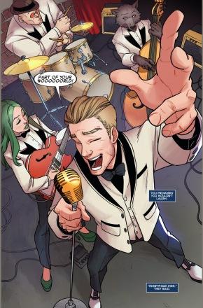 star-lord sings disney songs