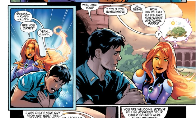 starfire knows how to perform mouth to mouth
