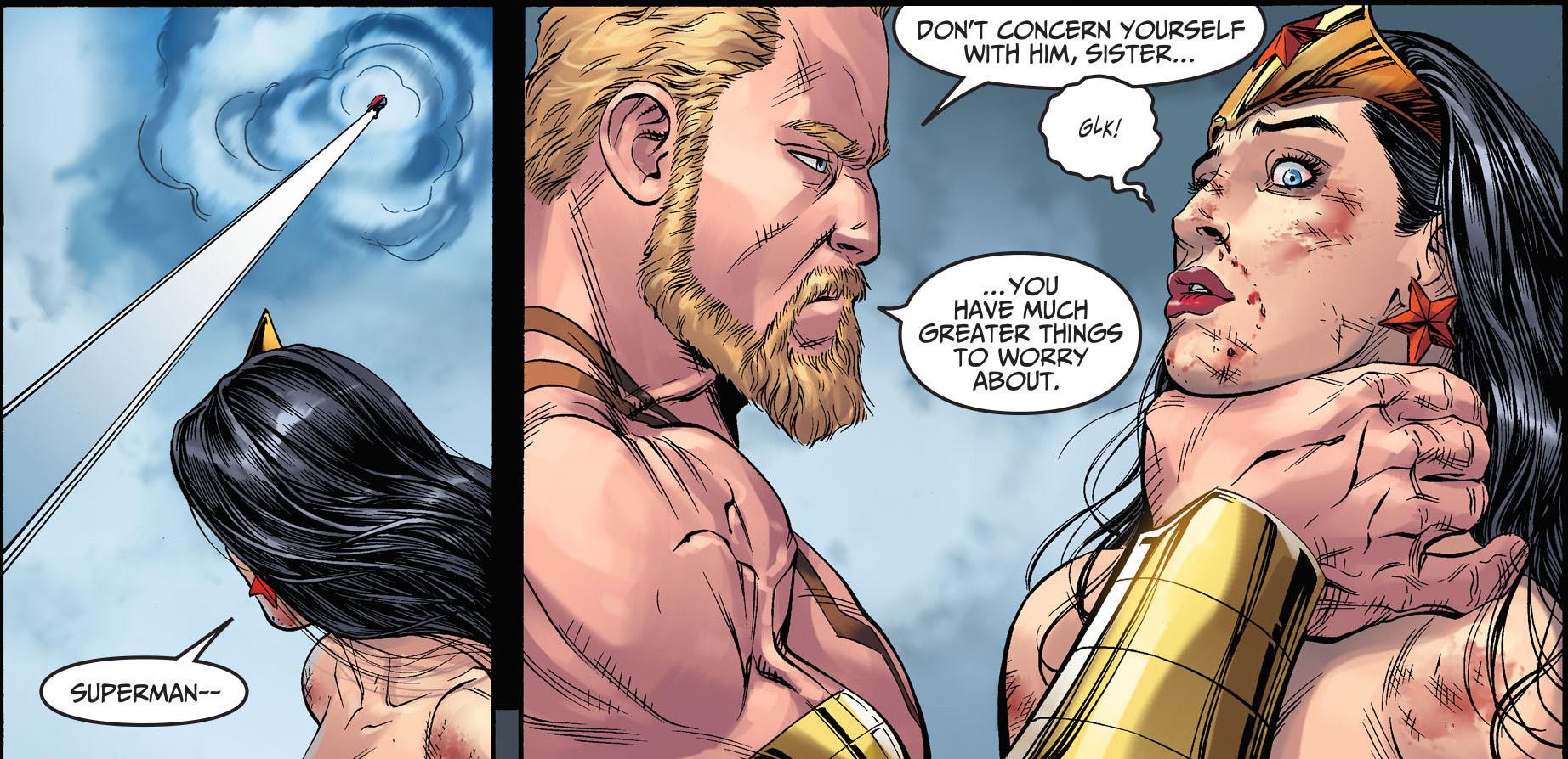 Superman And Wonder Woman Vs Hercules Injustice Gods -3656
