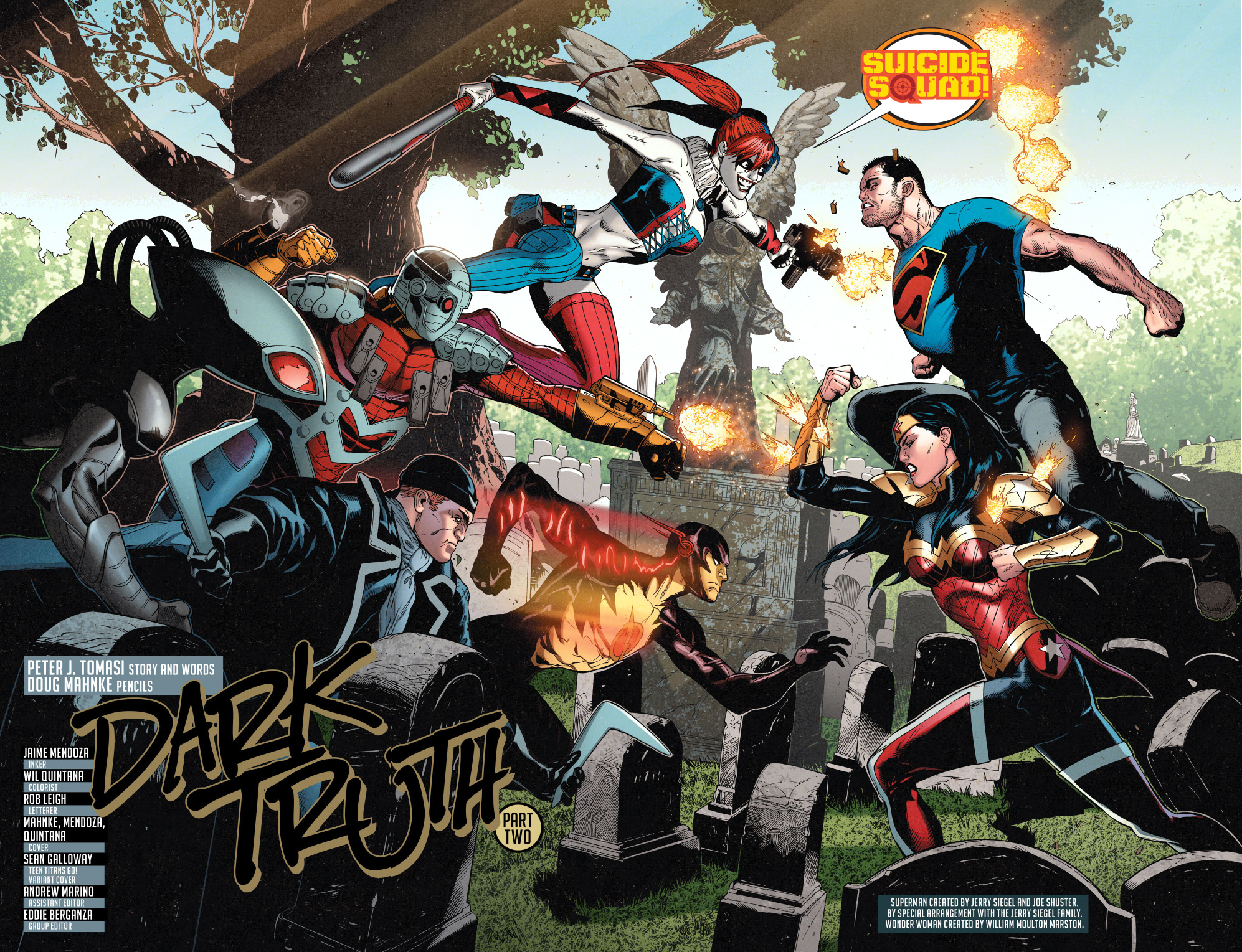 Superman And Wonder Woman Vs The Suicide Squad  Comicnewbies-6381