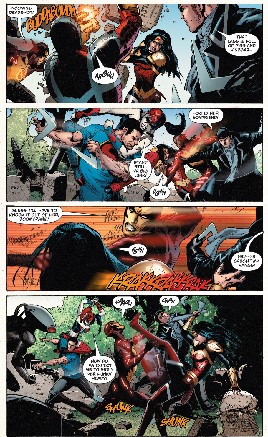 Superman And Wonder Woman Vs The Suicide Squad  Comicnewbies-9399