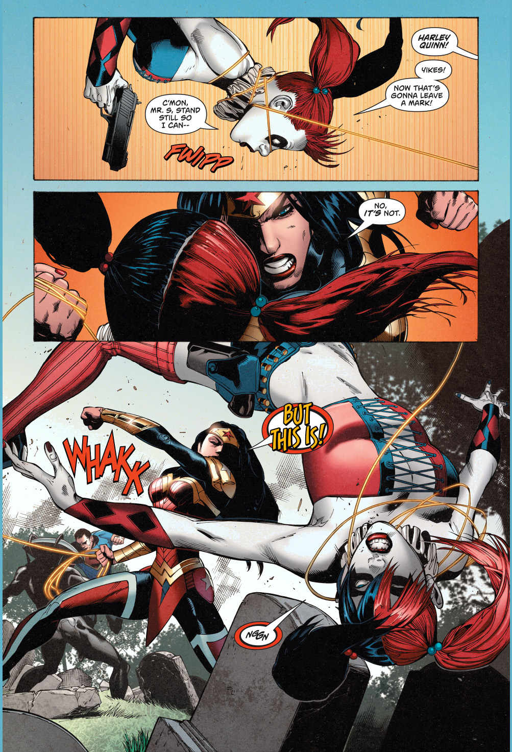 Superman And Wonder Woman Vs The Suicide Squad  Comicnewbies-4945