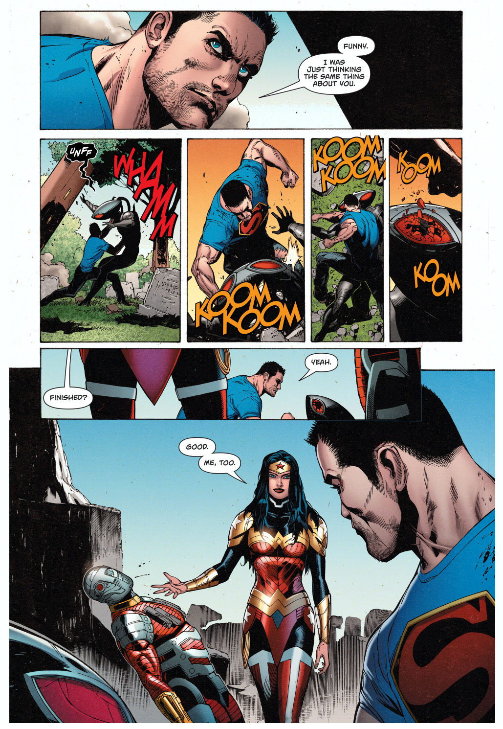 Superman And Wonder Woman Vs The Suicide Squad  Comicnewbies-8118