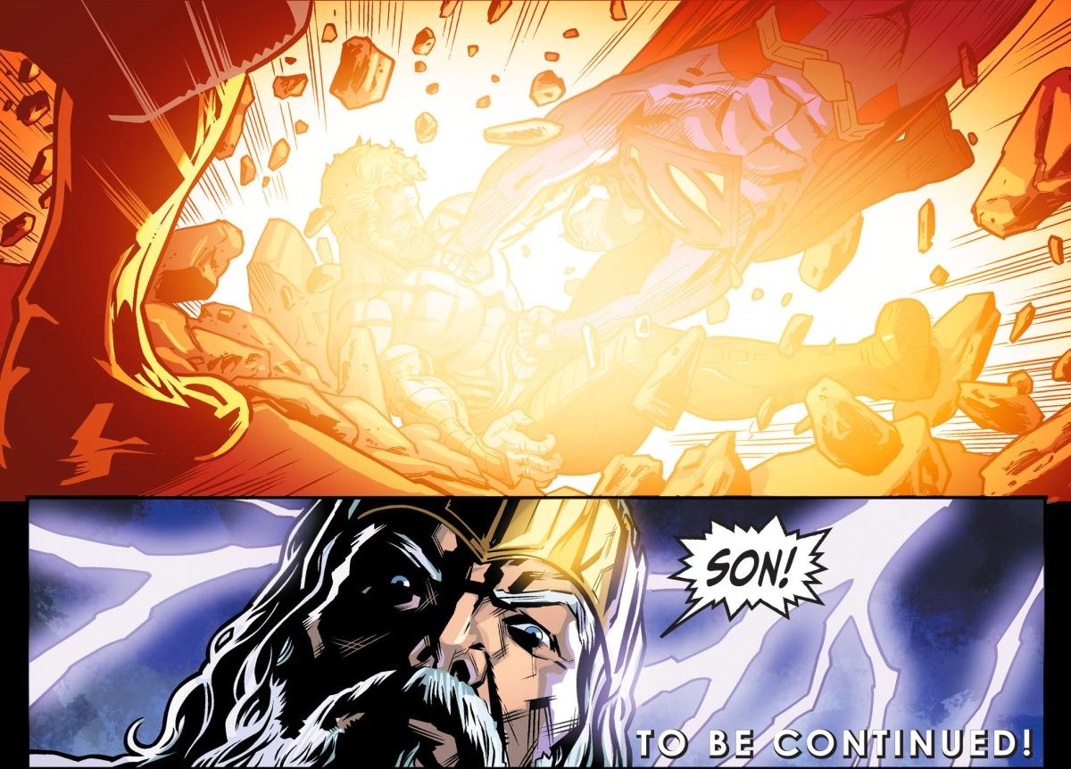 Superman Kills Hercules (Injustice Gods Among Us)