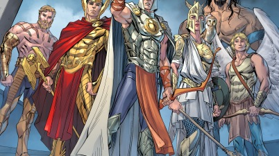 the gods of olympus (injustice gods among us)