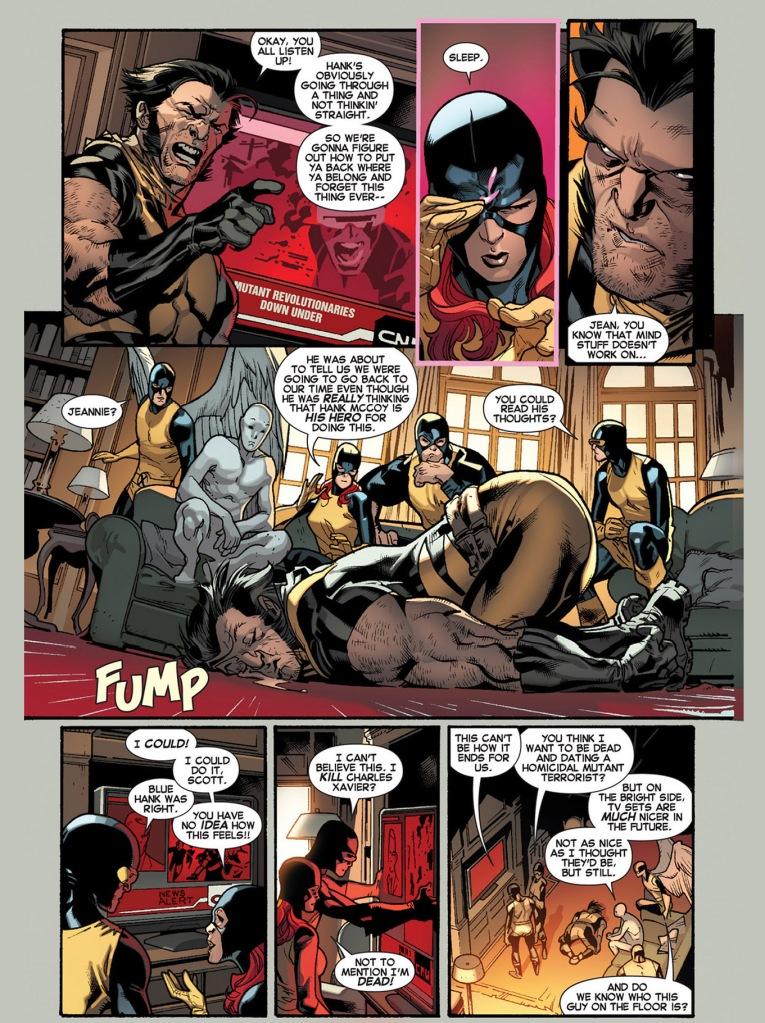 The Original 5 X-Men Escapes The Jean Grey School
