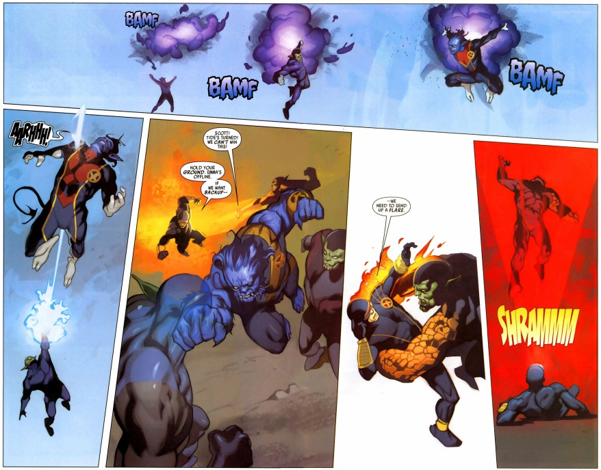 the x-men vs super-skrulls