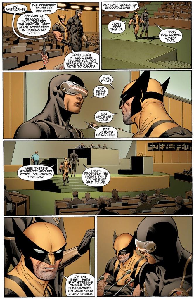 why wolverine follows cyclops