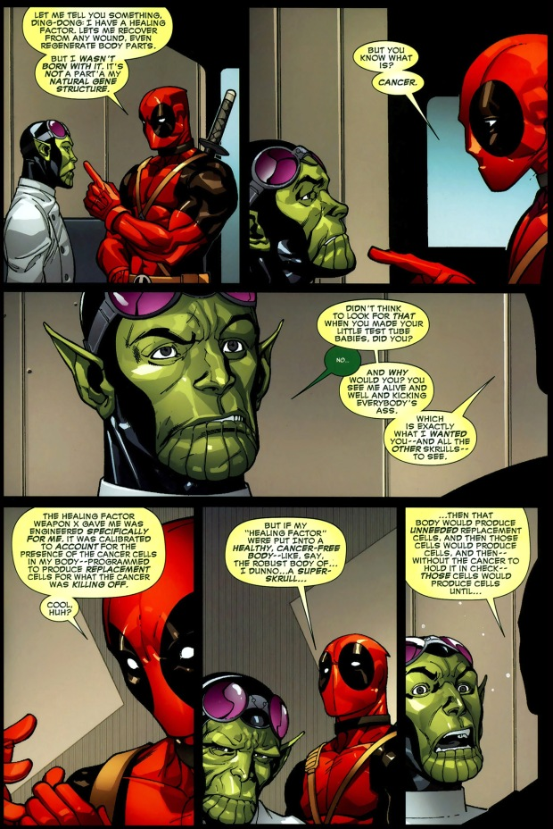 why you can't clone deadpool