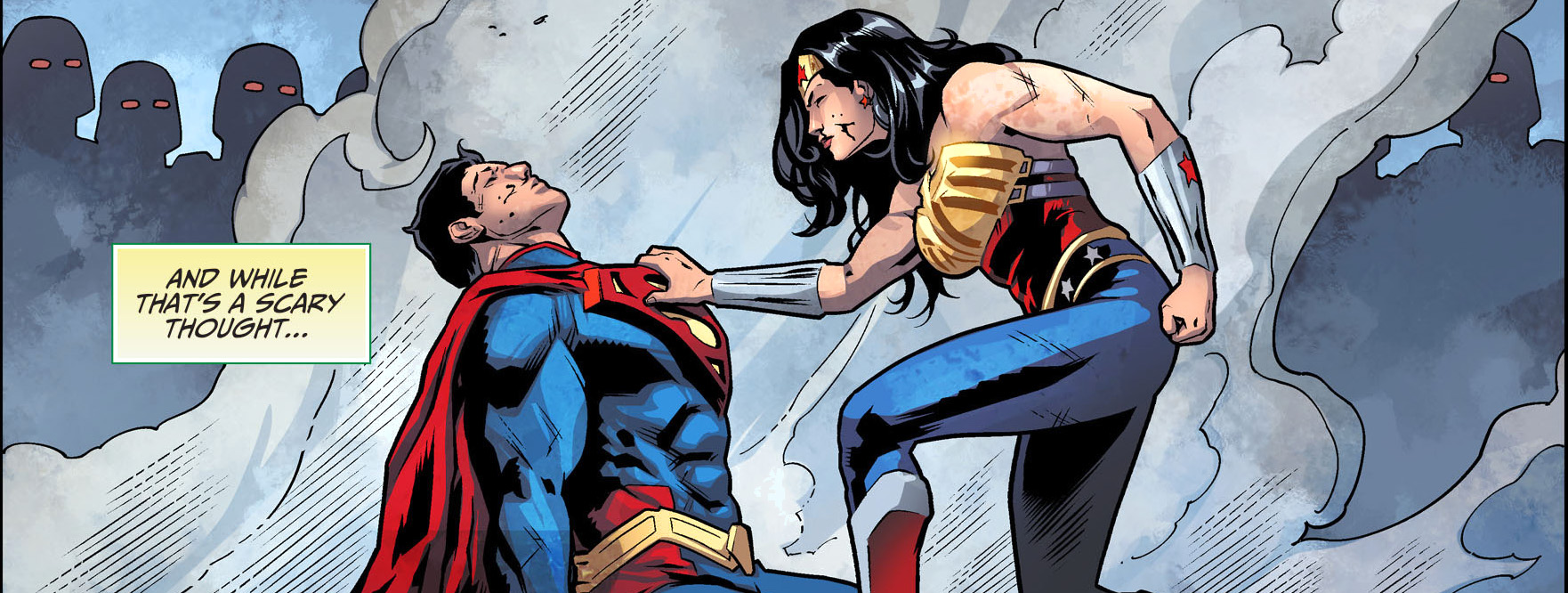 wonder woman beats superman injustice gods among us
