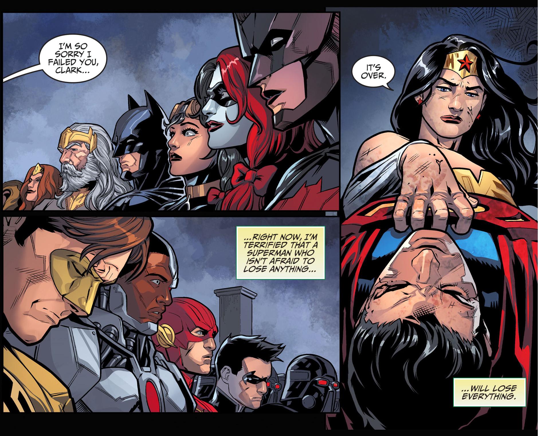 Wonder Woman Beats Superman Injustice Gods Among Us -1006