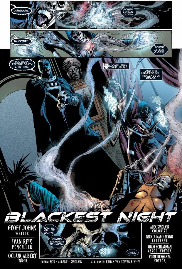 black lanterns kill hawkman and hawkgirl