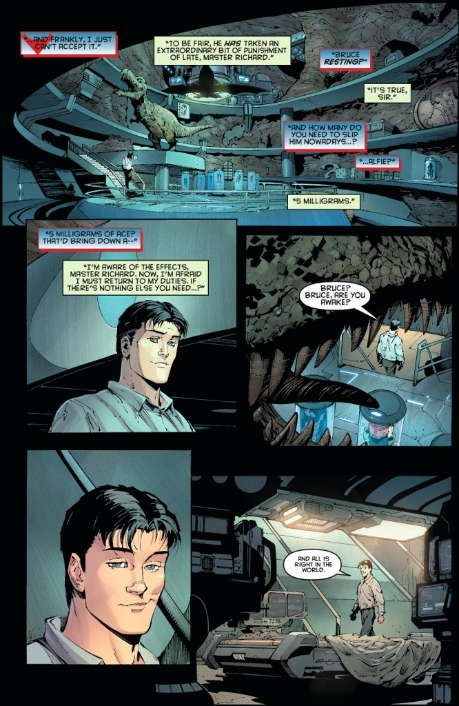 bruce wayne and his great great grandfather