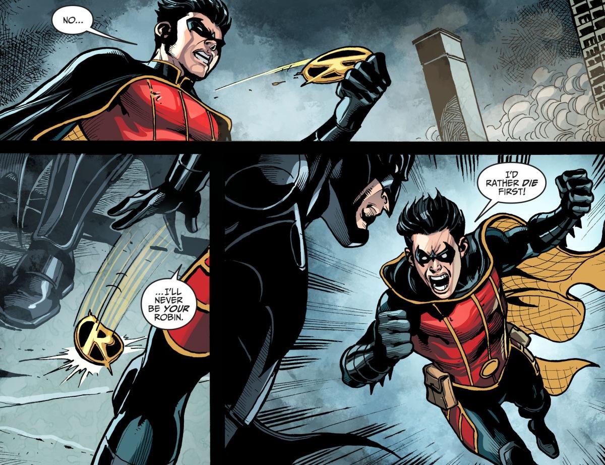 Damian Wayne Quits Being Robin | Comicnewbies