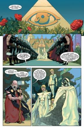 doctor strange's funeral