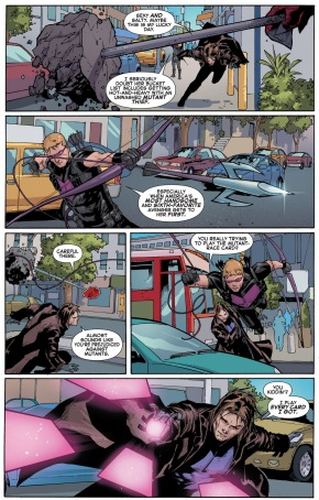 gambit and hawkeye vs underground monster