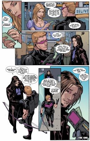 gambit steals hawkeye's wallet