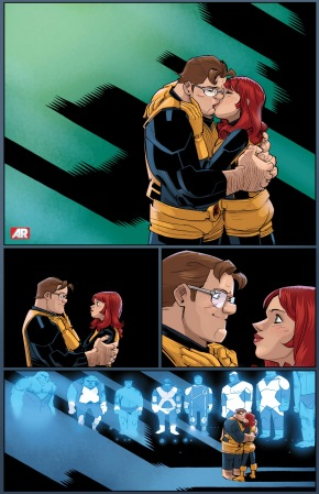 hank mccoy and jean grey kiss