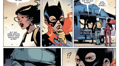 how batgirl recognized a disguised dick grayson
